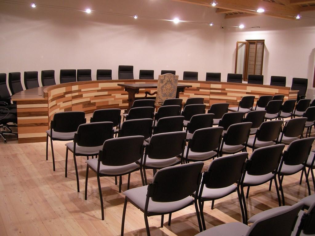 Arredo interno, sala conferenze