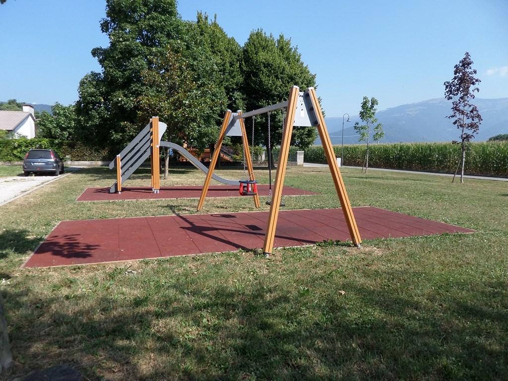 Arredo esterno, spazi comuni parco giochi